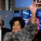 Shirley Bassey arrives for a fashion show in Germa