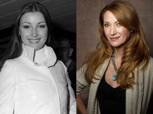 Jane Seymour then and now