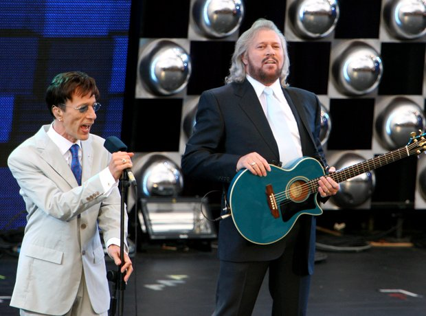The Bee Gees Perform at Prince's Trust Event