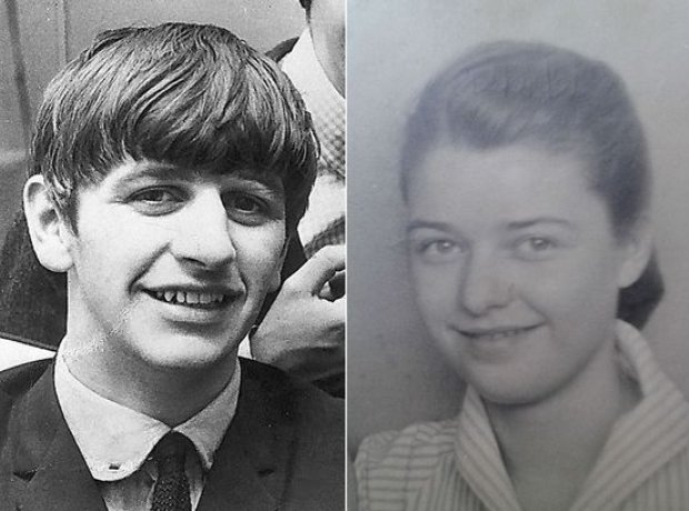 Ringo Starr and Doreen Speight