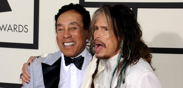 Smokey Robinson and Steven Tyler