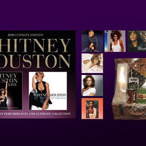 Whitney Houston hamper