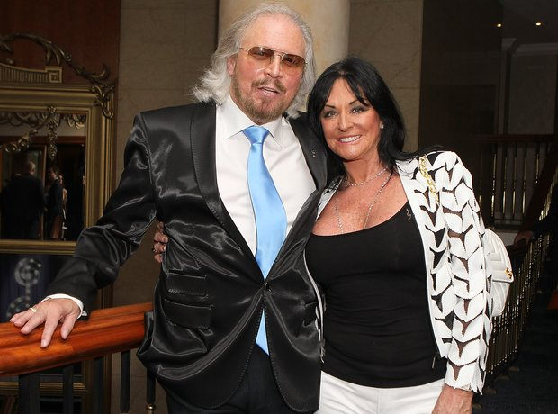 Barry Gibb Linda Gray