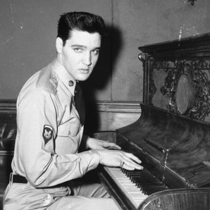 elvis presley piano