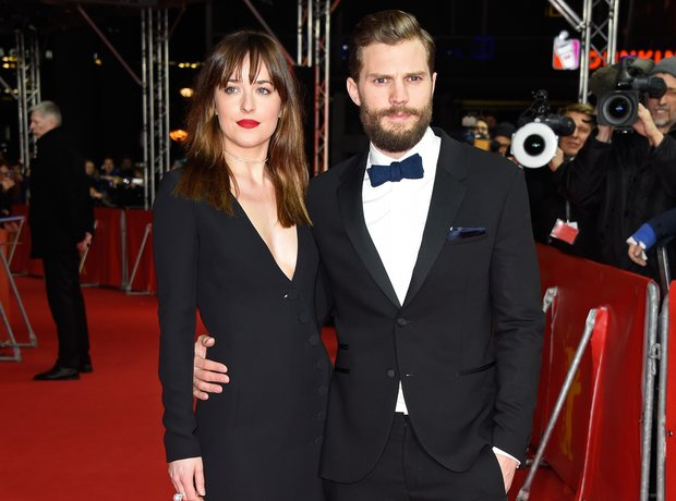 Dakota Johnson and actor Jamie Dornan