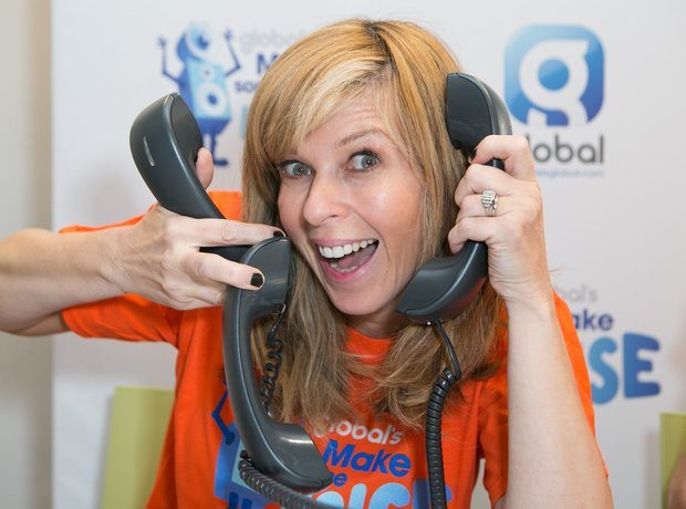 Kate Garraway Global's Make Some Noise 2015