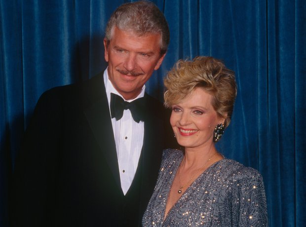 Robert Reed and Florence Henderson