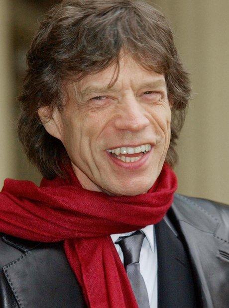 Mick Jagger Smile