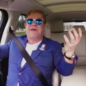 James Corden and Elton John Carpool Karaoke