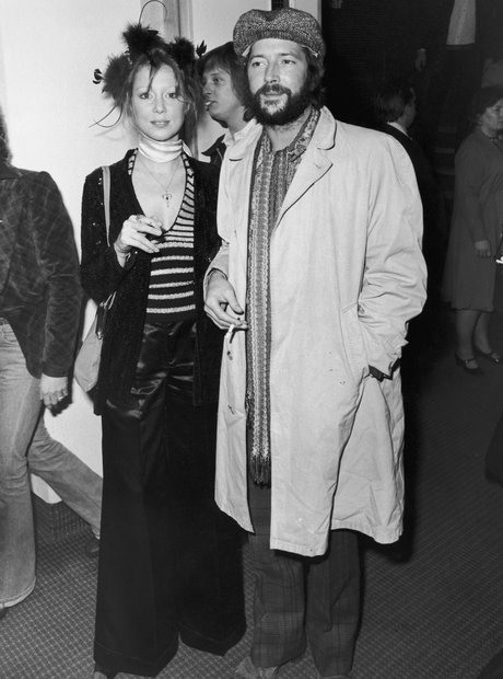 Eric Clapton and Patti Boyd