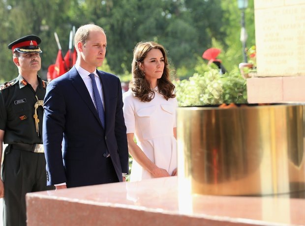 Royal Family Trip to India