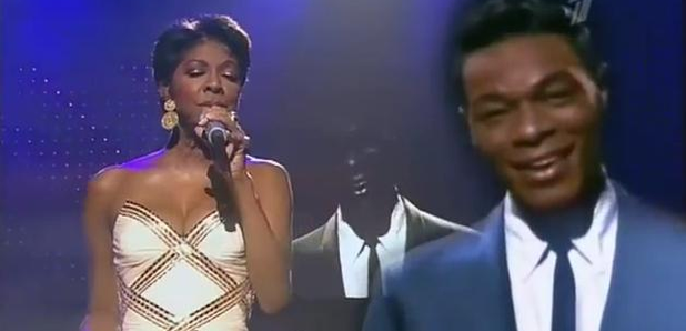 Natalie and Nat King Cole virtual duet in 1992