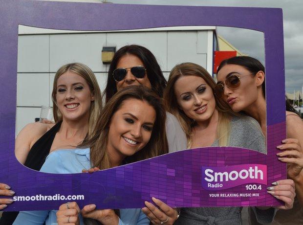 Smooth Radio at Haydock Racecourse