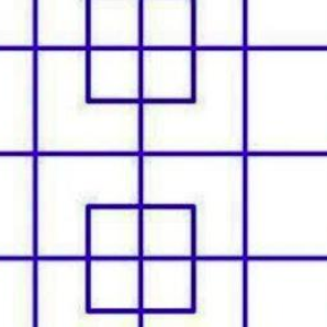 How many squares in this picture