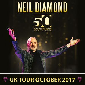 Neil Diamond concert promo 2017
