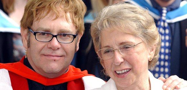 Elton John and mother Sheila
